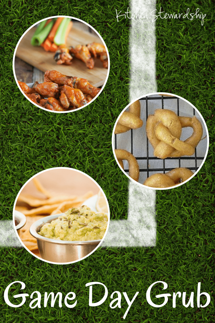 Bring Real Food to Your BIG GAME Party - the best of the best of {REAL FOOD} party recipes in one spot! :: via Kitchen Stewardship