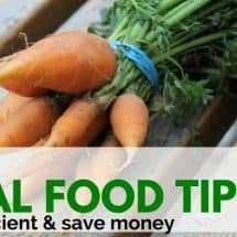 Monday Mission: Top 3 Foodie Efficiency Tips