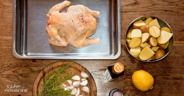 Two ways to cook a whole chicken