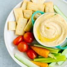 Simple Blender Hummus