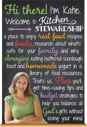 About Kitchen Stewardship