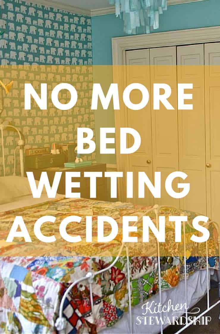 No More Bedwetting Incidents