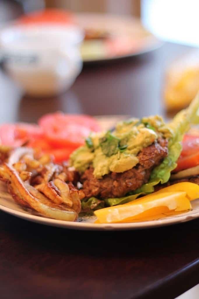 Hamgburger without Bun
