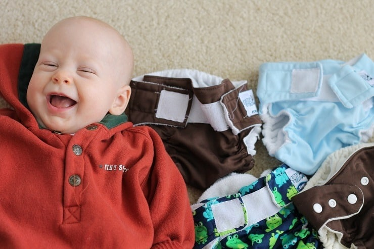 Our Favorite Cloth Diaper for All Ages Gabe approved Softbums