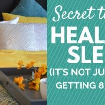 Monday Mission: The Secret to Healing Sleep