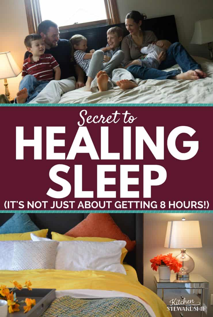 Secret to Healing Sleep Its NOT just about getting 8 hours