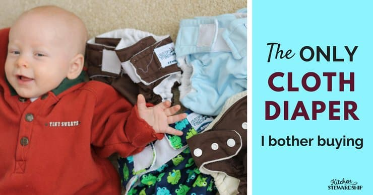 The Only Cloth Diaper I Bothered Buying 1