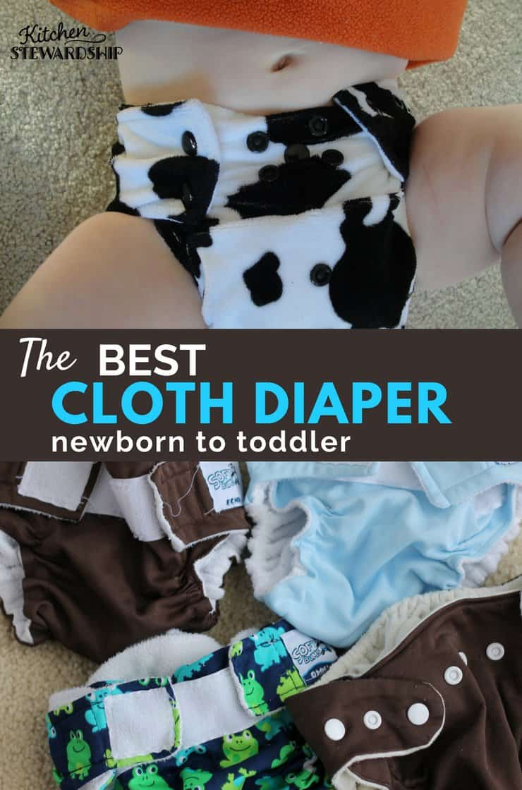 The Only Cloth Diaper I Bothered Buying