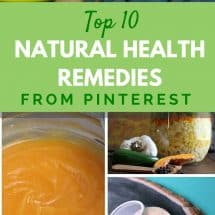 Top 10 Natural Health Remedies {Pinterest}