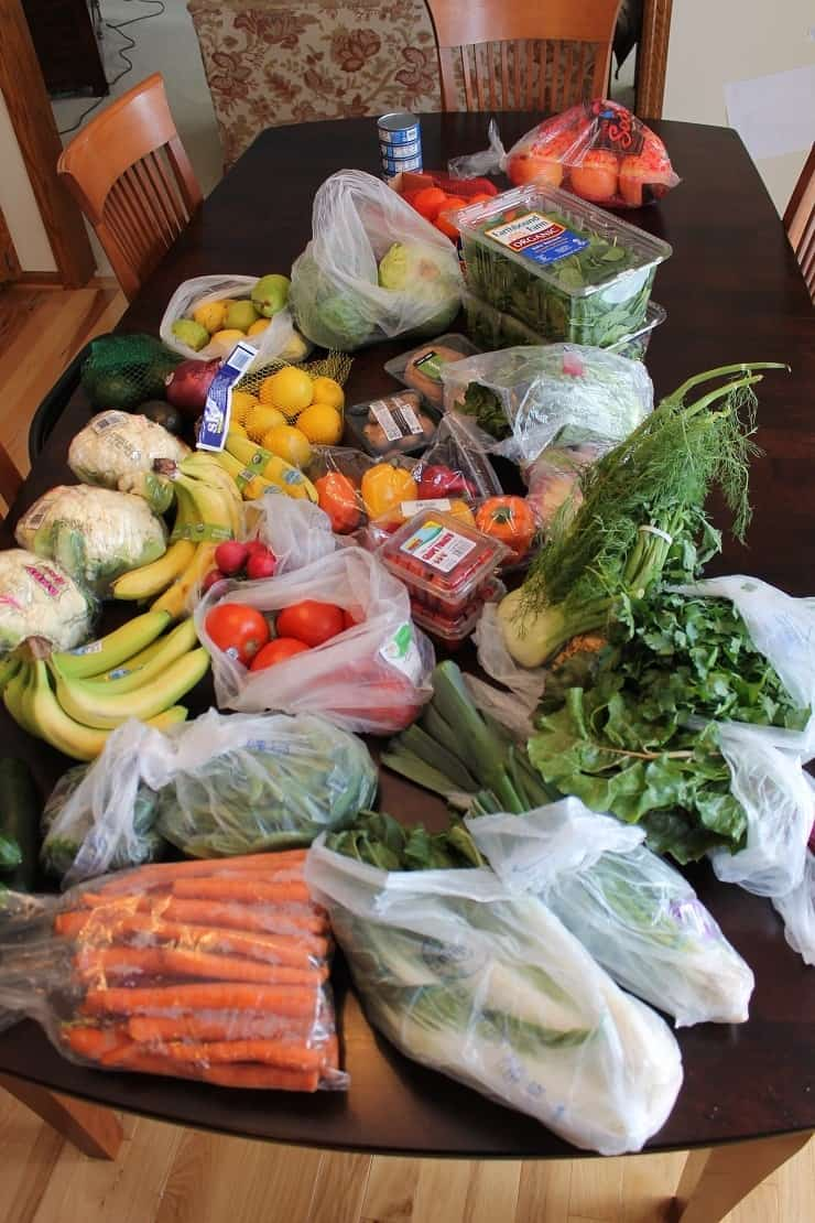 Whole 30 Vegetables Shopping Trip