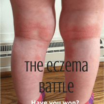 The Eczema Battle: Fighting the Good Fight