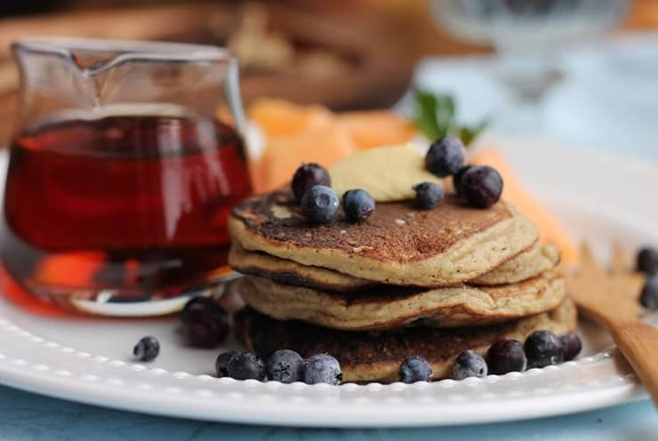 Blueberry Pancakes Grain free