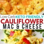 Gluten-free Cauliflower Instant Pot Mac & Cheese