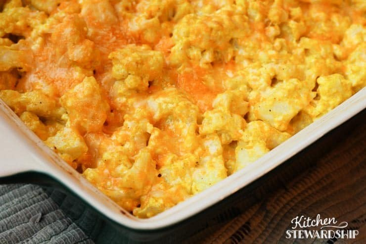 Low Carb And Grain Free Cauliflower Mac And Cheese Recipe