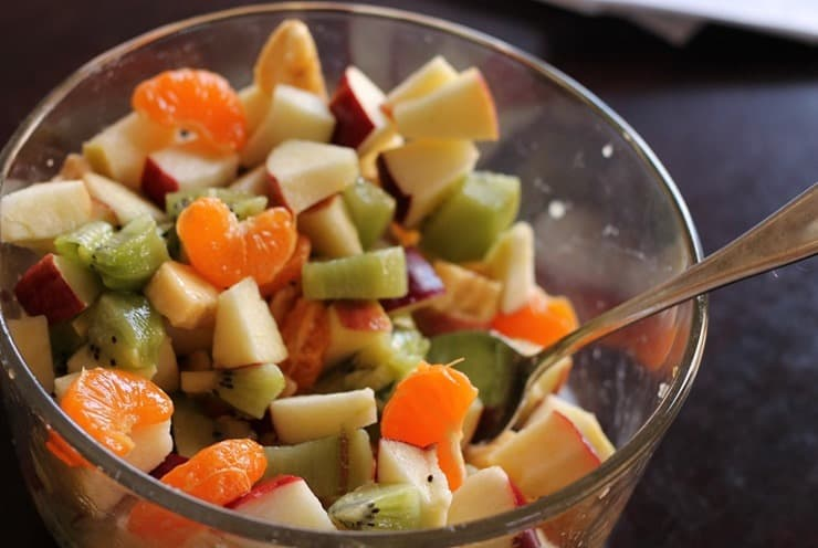 Kid inspired Fruit Salad