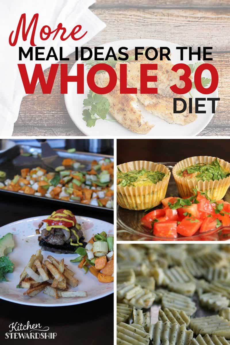 More Whole 30 Meal Plans