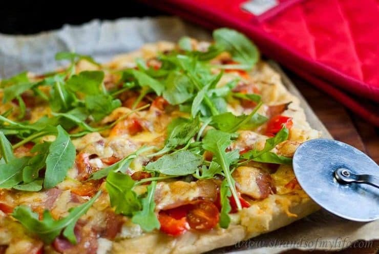 Bacon Feta Pizza 1024