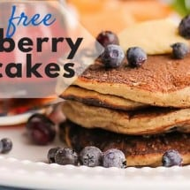 Perfect Blueberry Coconut Flour Pancake Recipe
