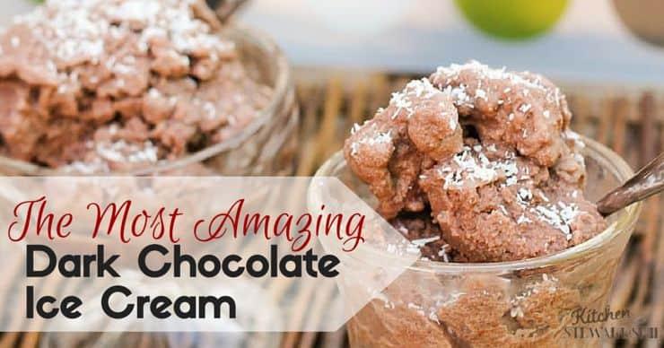 The Secret to the Most Amazing Dark Chocolate Ice Cream Ever {Secret ...