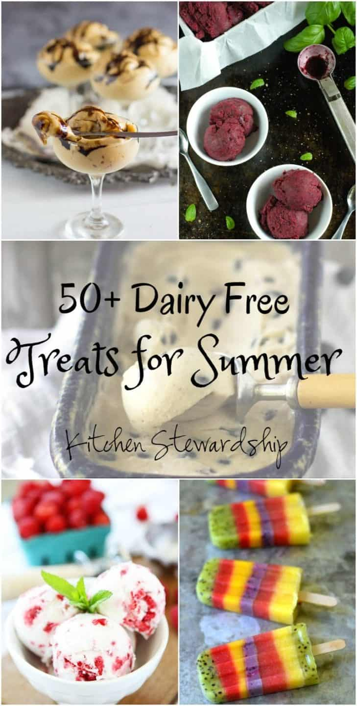 Your Freezer Doesn't Need Bar Codes to be Fun for Summer! 50+ Dairy-free Frozen Treats You Should Make and Not Buy