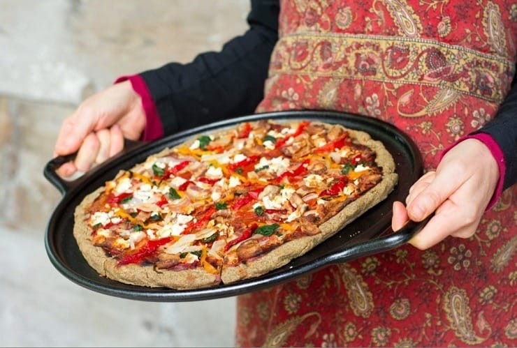 Grain free Pizza from Eat Beautiful