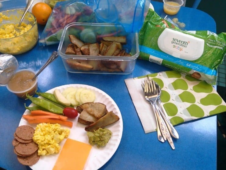 How to Pack a Real Food Lunch at the Zoo no expensive junk food