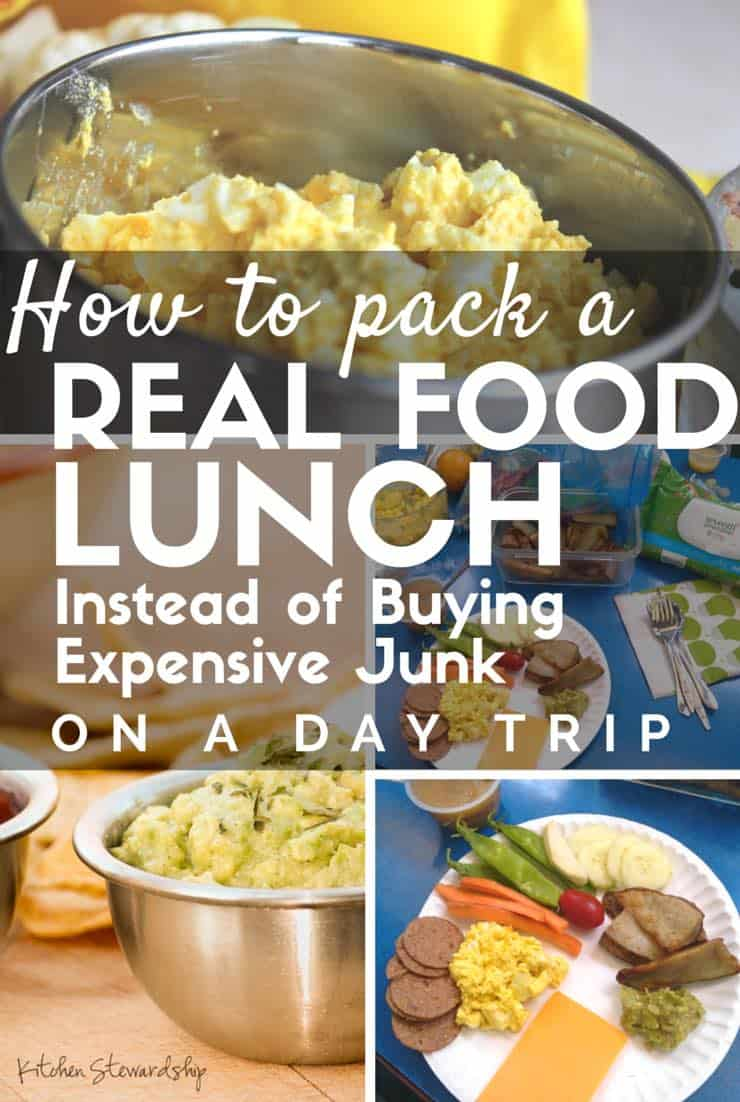 How to pack a Real Food Lunch Instead of Buying Expensive Junk