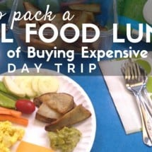 We Don't Do Lunch (How to Pack Real Travel Food for Day Trips)