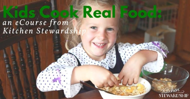Win prizes valued over $600!!! - Kids Cook Real Food ecourse is part of the giveaway!