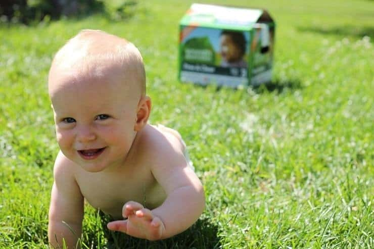 Change for Good give diapers to those in need by buying Seventh Generation diapers at Whole Fo