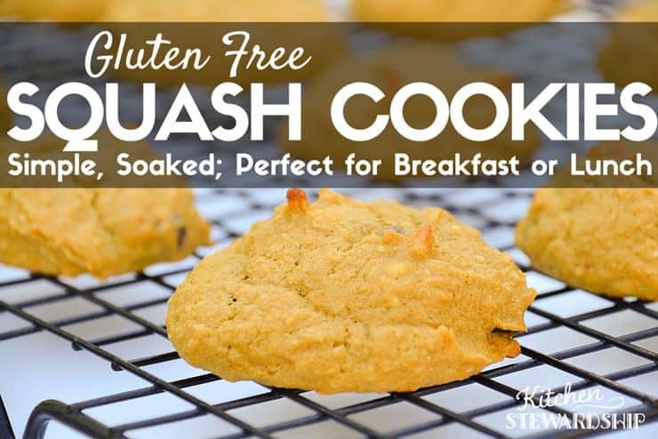 Gluten-Free Squash Cookies