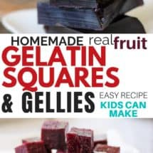 Don't Get me Started About Fruit Snacks – Make These Instead (Real Fruit Gelatin Squares and Gellies Recipe)
