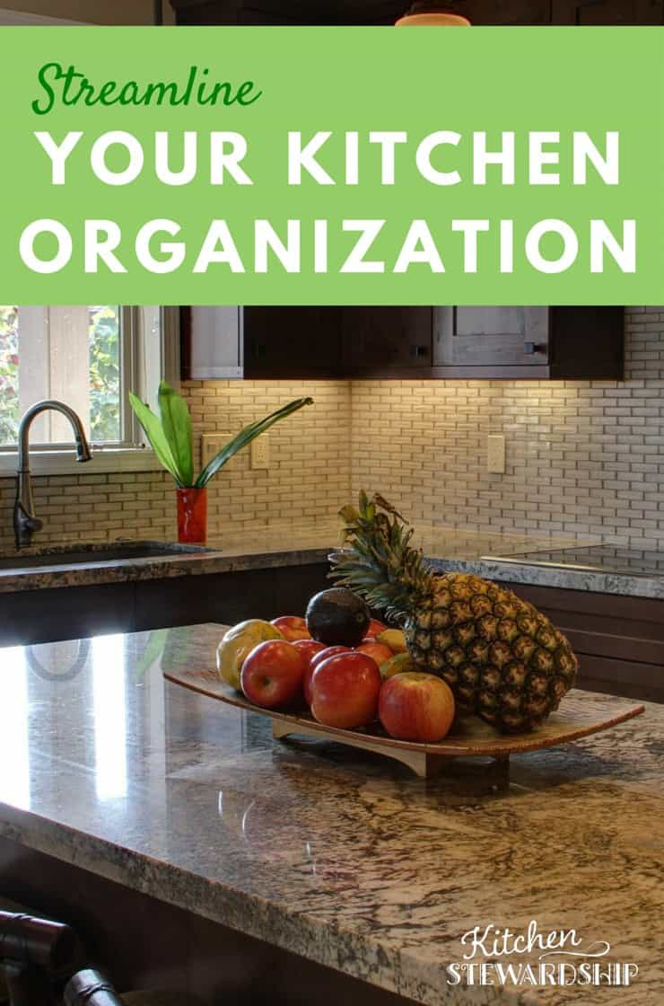 Streamline Your Kitchen Organization
