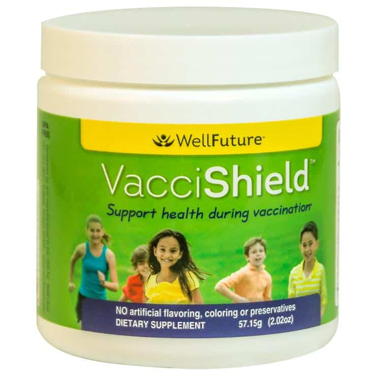 VacciShield nutritional support for infants and kids during vaccinations.