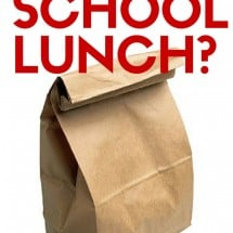 What Passes for School Lunch?