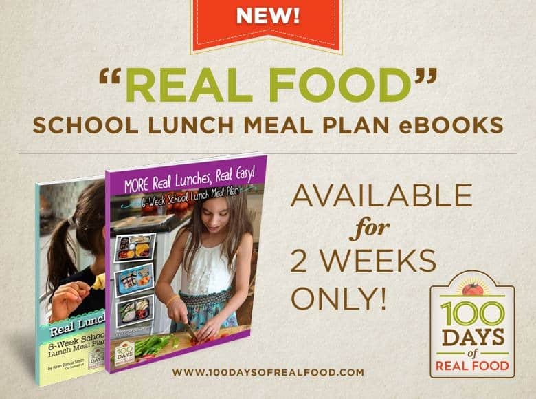 Real Lunches Real Easy Meal Plans