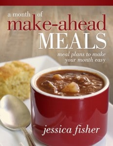 Five Easy Tricks for Make Ahead Meals