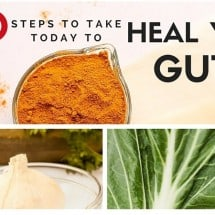 "What Does it Mean to ""Heal the Gut"" and 100 Key Steps You can Take Today to Start Healing Your Gut"