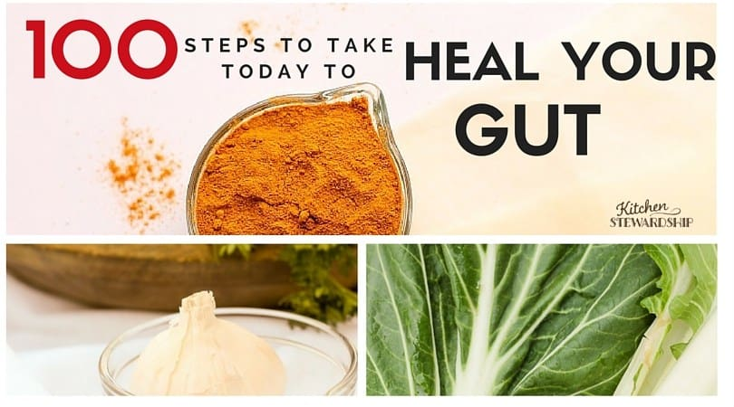 100 thing you can do to start healing your gut today