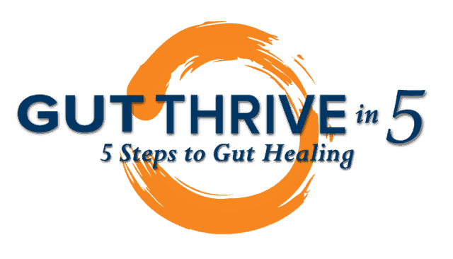 Gut Thrive in 5 is a program that was developed by a clinical and holistic nutritionist who used her years of experience and thousands of clients to figure out how to package up expensive one-on-one custom protocols into a program that can be successfully accomplished by people at a distance through this online course.