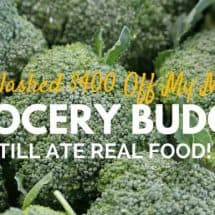 How I Slashed $400 off my Real Food Grocery Budget in One Month
