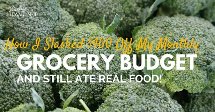 How I Slashed 400 Off My Monthly grocery budget facebook