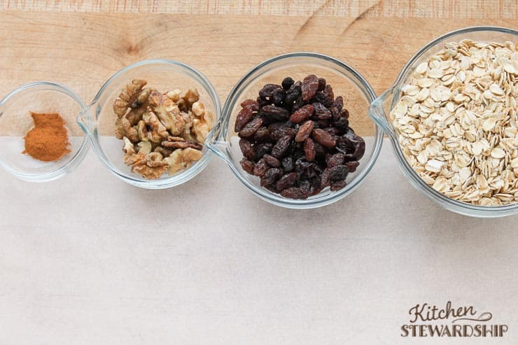 Oats and Oatmeal Toppings