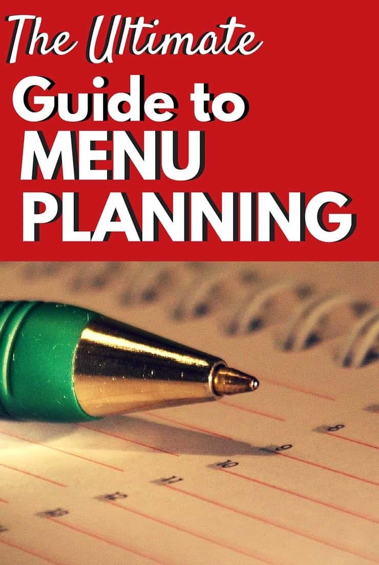 The Ultimate Guide to Menu Planing