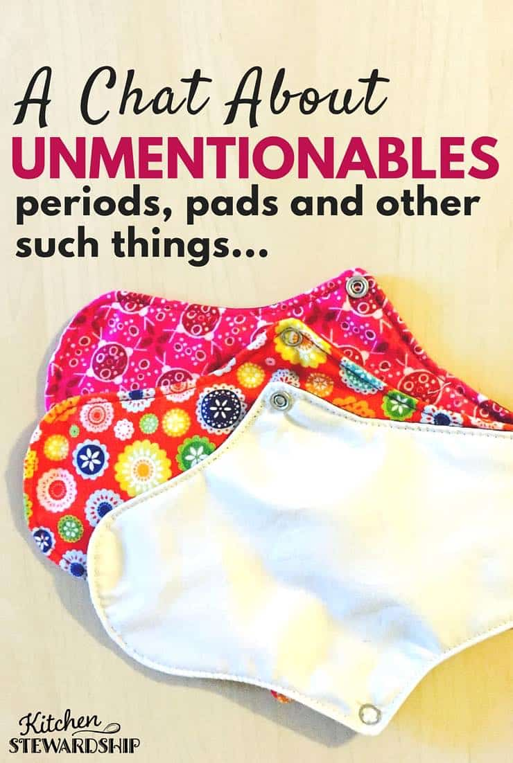 Periods, Panties, & Personal Care: A KS Look at the Unmentionables