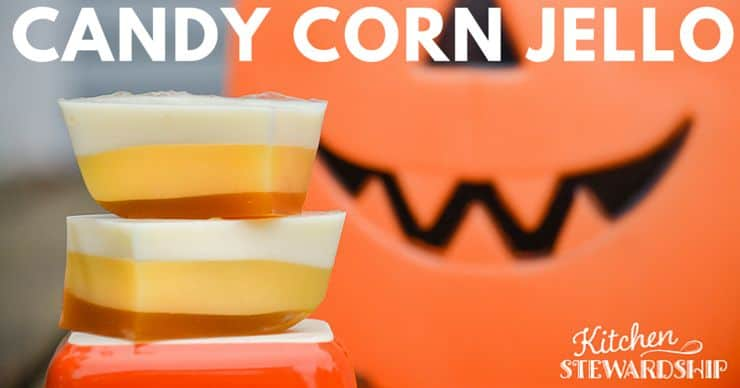 Finger Candy Corn Jello Recipe