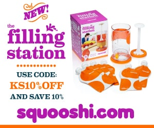 Squooshi filling station