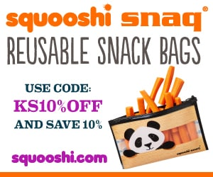 Squooshi reusable snack bags