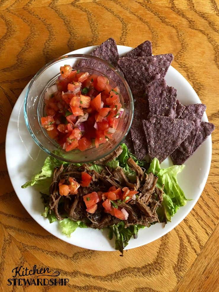 Slow Cooker Barbacoa Beef Recipe. This allergy-friendly Chipotle-style beef is quick and easy plus it freezes well for later.