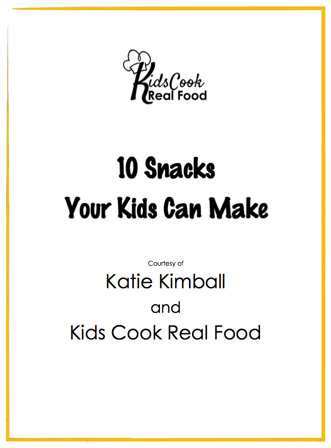 10 Snacks Your Kids Can Make With Their New Child Friendly Kitchen Tools